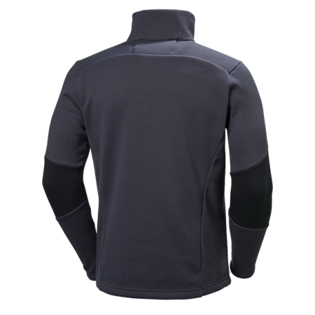 Bluza męska HELLY HANSEN EQ BLACK MIDLAYER graphic